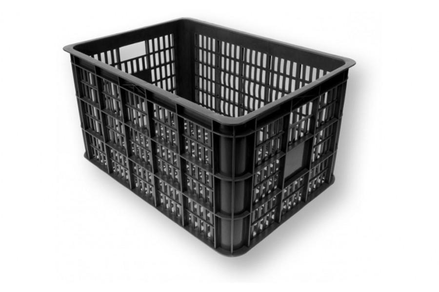 Fietskrat Basil Crate Medium 26 liter - zwart