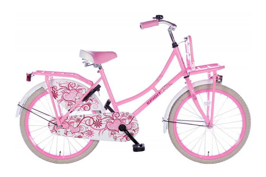 Spirit Omafiets Roze Meisjesfiets 20 inch